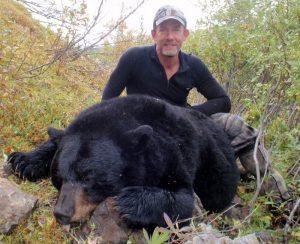 Don Hammond with his Alaska Bear