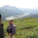 Kelly overlooking valley