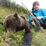 Bear Hunt Photo with Vrem Rough & Ready Guide Service