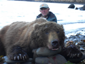 Dick Goodwill with his Alaska Bear