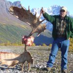 Moose Rack - Alaska Moose Hunt
