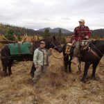 Carolyn and Bob D. hunting with Kelly Vrem