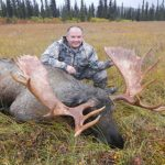Nathan Savage with excellent moose