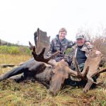 2011 Alaska Moose Hunters with their Moose