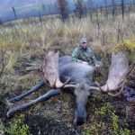Troy with his Alaska Moose