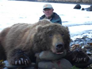 Dick Goodwill with his Alaska Bear