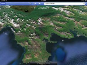 Satellite Flights of Alaska Hunting Area