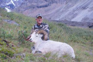 Alaska sheep hunting