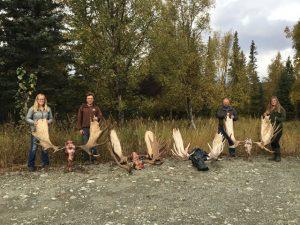 Alaska Moose Hunt Photo