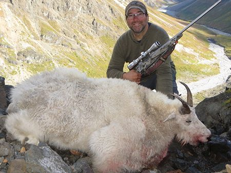 Kelly Vrem Alask Hunter_with Mountain Goat._sm
